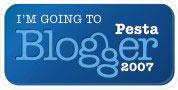 I am going to Pesta Blogger 2007