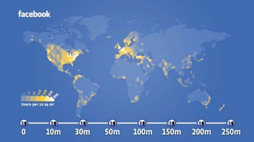 250 million Facebook users
