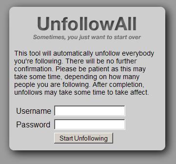 unfollowall